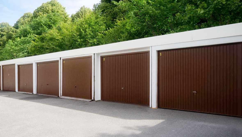 Vermietung von Garagen